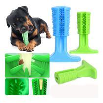 Escova Limpa Dente Mordedor Cães Cachorro Pet Massageador