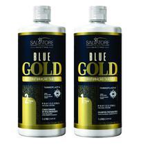 Escova Progressiva Salvatore Blue Gold- 2x1L