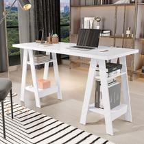 Escrivaninha Mesa Computador Cavalete Viva