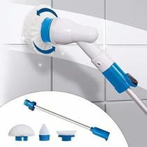 Esfregão Escova de Limpeza  Elétrica Recarregável 3-1