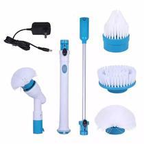 Esfregão Escova de Limpeza Elétrica Recarregável Prátic Spin