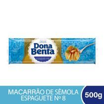 Espaguete Ovos Dona Benta 500g