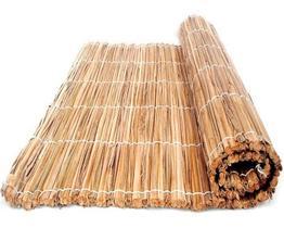 Esteira De Palha Taboa 1,5x1,0m Pergolado Forro Tapete Palha