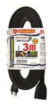 Extensão Elétrica / Cordão Prolongador - Megatron 20a - 3m