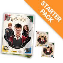 Figurinha Harry Potter, 8 Cromos + 2 Cards + Album