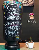Filtro de barro Frida Khalo