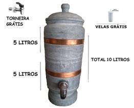 Filtro de Pedra Sabão 10 litros