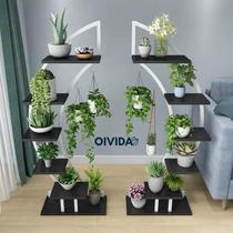 Floreira Decorativa De Chão Vertical Em Arco Mod104