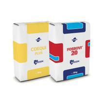 FOBOVI 20 TQ (1320kg )+ COEQUI PLUS (200kg) - Combo com 52 sacos  Tortuga