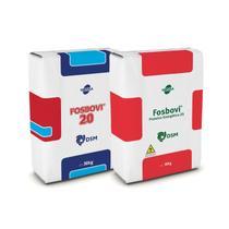 FOSBOVI 20 TQ (300kg) + FOSBOVI PROTEICO ENERGÉTICO 25 (1200kg) - Combo com 50 sacos - Tortuga