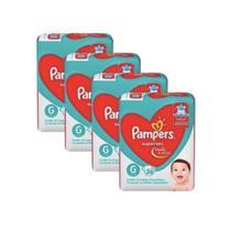 Fralda Pampers Supersec tamanho G kit c/ 04 pacotes - P&G