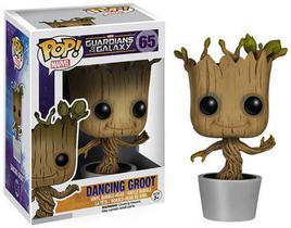 Funko Pop Dancing Groot 65 - Guardiões da Galáxia - Marvel
