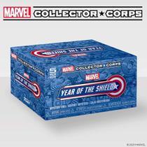 Funko POP Marvel Collector Corps - Capitão America