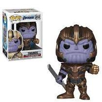 Funko Pop Thanos 453 - Vingadores Ultimato - Marvel