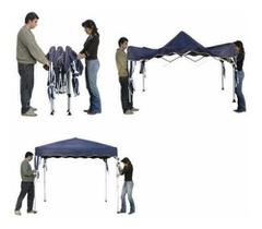 Gazebo Tenda Aluminio 3x3m Sanfonada + Bolsa Transporte