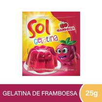 Gelatina Sol Framboesa 25g