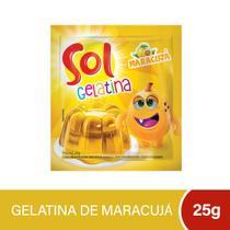 Gelatina Sol Maracuja 25g