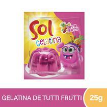 Gelatina Sol Tuttifruti 25g