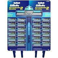Gillette Prestobarba UltraGrip Cabeça Fixa Cartela C/24