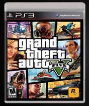 GTA 5 - PS3 - Grand Theft Auto V - Rockstar Games