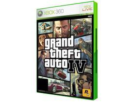 GTA IV - Grand Theft Auto IV para Xbox 360