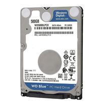 """HD Notebook Western Digital 500GB WD5000LPCX SATA 2.5"""" 5400RPM"""