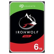 HD Seagate IronWolf NAS, 6TB, 3.5, SATA - ST6000VN001