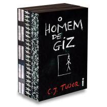 Homem de giz - kit 3 livros