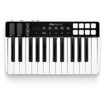 Interface de áudio e controlador 25 midi irig keys i/o - ik multimedia