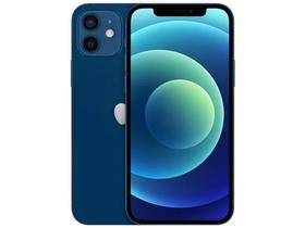 """iPhone 12 Apple 64GB - Azul Tela 6,1"""" 12MP iOS"""