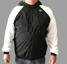 Jaqueta Corta Vento Básica Masculina Plus Size