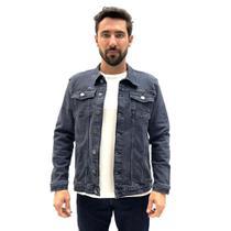 Jaqueta hering  jeans com botao masculina