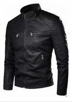 Jaqueta Masculina Com Capuz Veludo - GG (Preto)