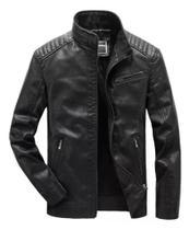 Jaqueta masculina impermeável slim
