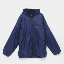 Jaqueta Sportwear Styles Nylon Com Capuz Plus Size Masculina