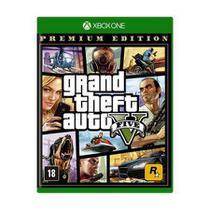Jogo Xbox Grand Theft Auto v - Gta5 Midia Fisica