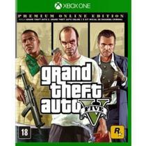 Jogo Xbox One GTA V Premium Edition  ROCKSTAR GAMES