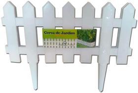 Kit 18 Cerca Plastica Decorativa Jardim Inglês 7,29m Aproxi