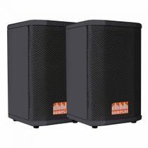 "Kit 2x caixas passivas SomPlus 6"" 150W SP062VIAS"