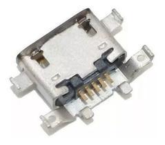 Kit 4 Unidades Conector Carga Dock Moto G4 Plus Xt1640 1641