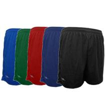 Kit 5 Shorts Masculino Academia Futebol 38 ao 64 Plus Size