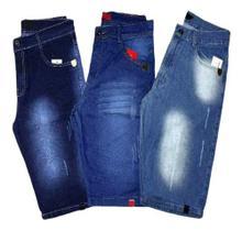 Kit 6 Bermuda Short Jeans Masculina Atacado Revenda E Lucre