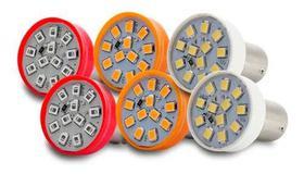 Kit 6 Lampadas Leds Lanterna Traseira Pisca Seta Re Freio Ap1202-ap1204-ap1292