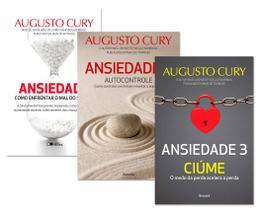 Kit Ansiedade Coleção Completa (3 volumes) - Augusto Cury