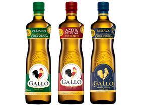 Kit Azeite de Oliva Gallo 3 Unidades