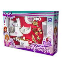 Kit Batedeira Liquidificador Panelinhas Cook Princess