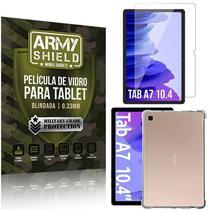 Kit Capa Anti Impacto + Película de Vidro Galaxy Tab A7 10.4' T500 T505 - Armyshield