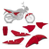 Kit Carenagem 3 Peças Pro Tork Fan 150 2004 Até 2008