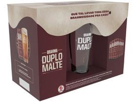 Kit Cerveja Brahma Duplo Malte Lager 6 Unidades
