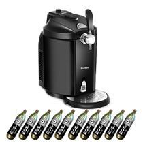 Kit Chopeira EOS Bierhaus Titanium 5 Litros com Keg e 10 Cilindros de CO2 Alimentício 110V 110V